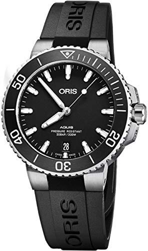 Oris Aquis automatico nero quadrante mens orologio 0173377324124–0742164FC