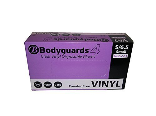 size-small-box-of-100-best-price-bodyguards-disposable-powder-free-vinyl-medical-grade-gloves