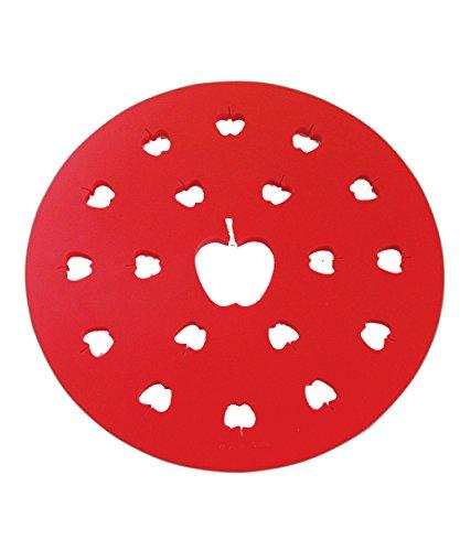 R & M International Apple Pie Top Cutter, rot, 2727 Pie Top Cutter
