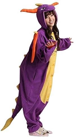 Dinosaur Adulte Costumes Dhalloween - Gillbro Anime Adulte Animal Cosplay Costume Pyjamas,