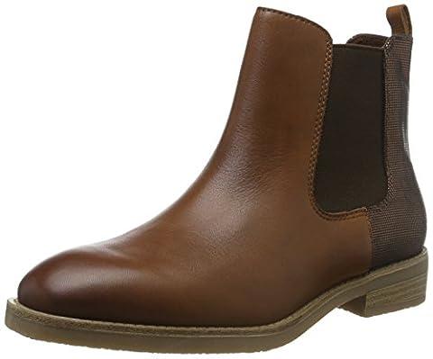Tamaris Damen 25300 Chelsea Boots, Braun (Cognac/Bronce 332), 40 EU