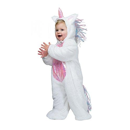 Kostümplanet® Einhorn-Kostüm Baby Kinder-Kostüm Einhornkostüm Faschings-Kostüm Größe 98
