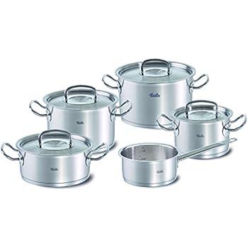 fissler original profi collection 5 piece cookware set includes casserole 20cm diameter pots. Black Bedroom Furniture Sets. Home Design Ideas