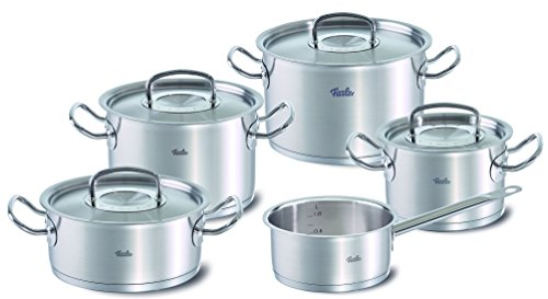 fissler topfset original profi collection 5 teilig edelstahl kochtopf s f084123250000 fissler. Black Bedroom Furniture Sets. Home Design Ideas