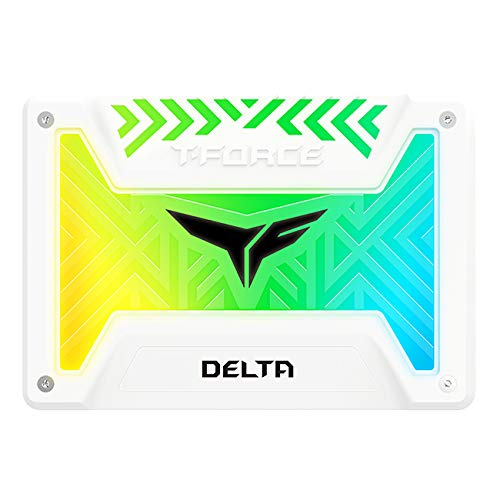 Team Group Delta RGB SSD Unidad de Estado sólido 2.5' 500 GB Serial ATA III - Disco Duro sólido (500 GB, 2.5', 560 MB/s, 6 Gbit/s)