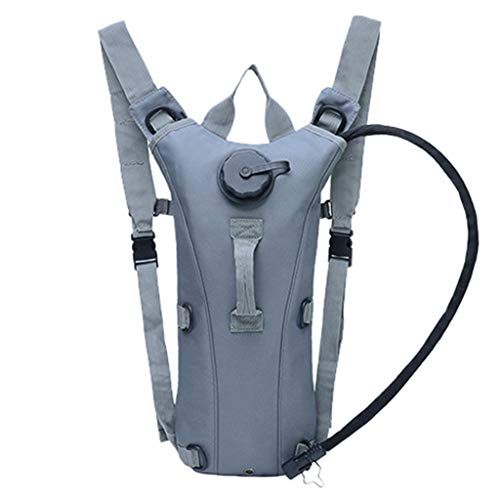 squarex ® 2019 Unisex New Outdoor Klettern Wasserbeutel Ladies Camouflage 3L Liner Wasser Rucksack Ladies Casual Bag Men Sport Bag -