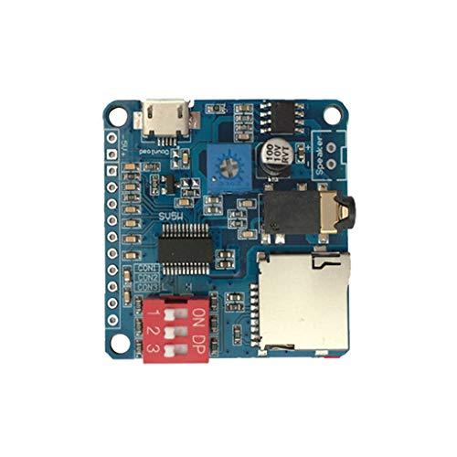 LLAni Mini DY-SV5W MP3-Player Modul Trigger/Serial Port Control Audio Voice Playing Board Serial Port Control