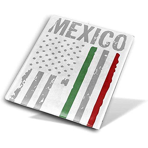 Weiße mexikanische Flaggen-Papier-Bucheinband-Buch-Schutz-wiederverwendbares BOok Ärmel wasserdicht Schulmaterial 9 x 11 Zoll