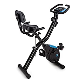 Capital Sports Azura X2 - Ergometro, Hometrainer, Fitness-Bike, X-Bike, Training Computer, Resistenza Regolabile 8…