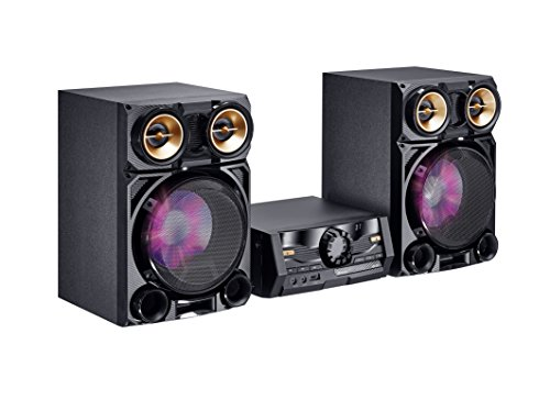 Mac Audio MPS 801 | DAB+ Kompaktanlage | 800 Watt High-Power Hifi-System mit DAB+, Bluetooth, USB, CD, AUX, RDS - schwarz