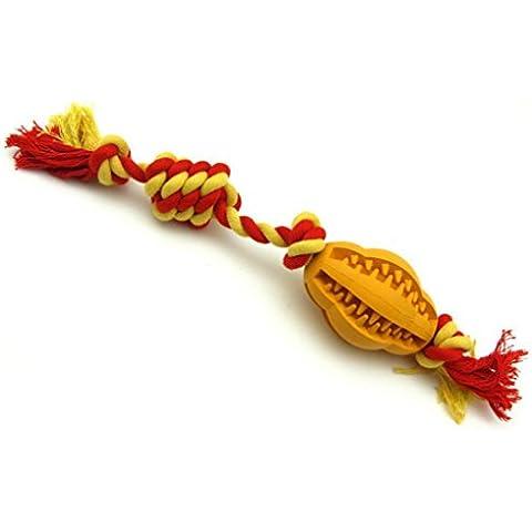 cane giocattoli pulizia dei denti, anche la corda di cotone duro da masticare molari durevole non tossico giocattoli da compagnia , - 8.3cm(??33.0cm)