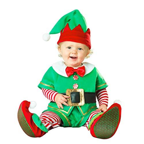 NormCorer - Cute Kleinkinder Babykostüm - Kleinkind Weihnachtsmann Lil 'Garden GNOME Strampler für Weihnachten | Party (Zwerg, - Gnome Kostüm Kleinkind