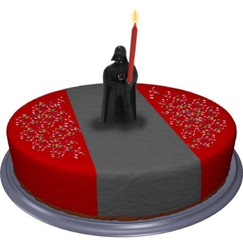 nkerze ca.10cm (Darth Vader-kuchen)