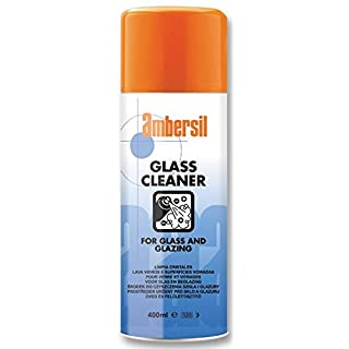 GLASS CLEANER 400ML 160004000 By AMBERSIL