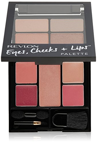 Revlon Eyes, Cheeks und Lips Palette Romantic Nudes 100, 1er Pack (1 x 11 g) (Revlon Base Coat)
