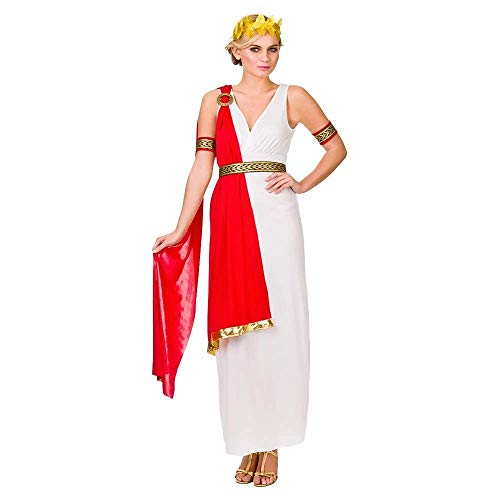 Glamorous Lady romano Toga costume delle donne del vestito operato Media - (UK 14/16)