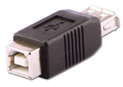 Lindy 71228 - USB Adapter - Typ A-Buchse auf Typ B-Buchse (Usb Typ B Weiblich)