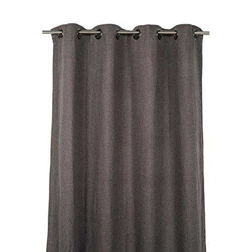 Preisvergleich Produktbild Harmony - Vorhänge Leinen,  vorgewaschen Propriano - 100% Leinen Stone Wash - 140 * 280 Ecorce