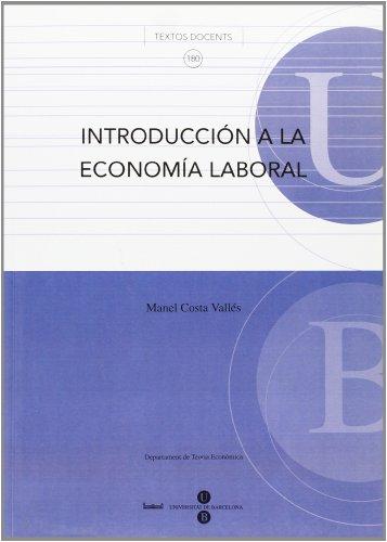 INTRODUCCION A LA ECONOMIA LABORAL