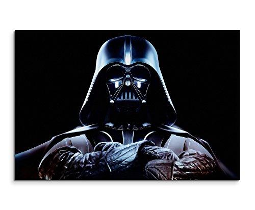 Darth Vader Wandbild 120x80cm XXL Bilder und Kunstdrucke auf Leinwand