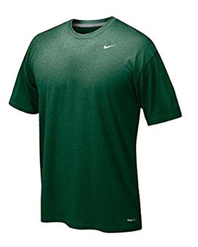 Nike Jugend Legende Short Sleeve T-Shirt (Jugend großen, dunklen Grün) (Jugend-legende)