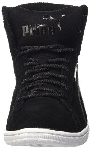 Puma Vikky Mid Twill Sfoam Sneaker Nero (Schwarz (puma black-puma Black 03))