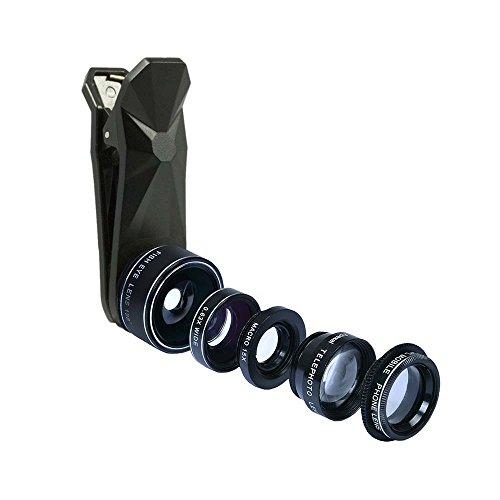 iboolo objetivo Photo fish-eye 210° Universal para Smartphone