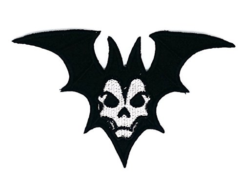 Schwarz Fledermaus Patch Eisen auf Logo Weste Jacke Gap Hoodie Rucksack Patch Iron On/Sew On Patch -
