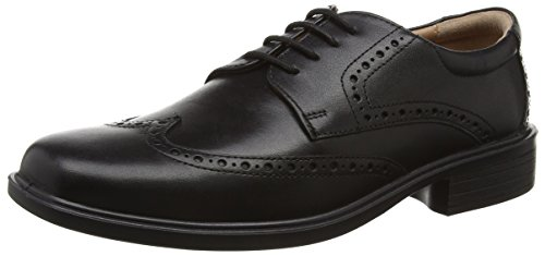 Padders Riley, Men'S Brogue, Black (Black Polished), 8 UK (42 EU)