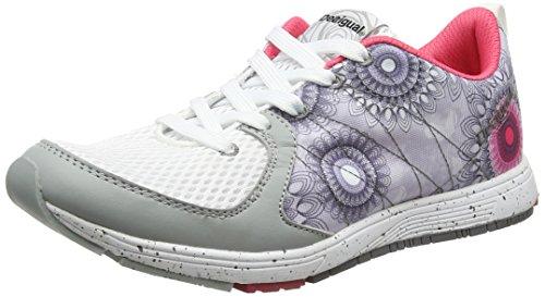 Desigual Shoes_x Lite 2.0 B, Scarpe Sportive Indoor Donna Bianco (BLANCO1000)