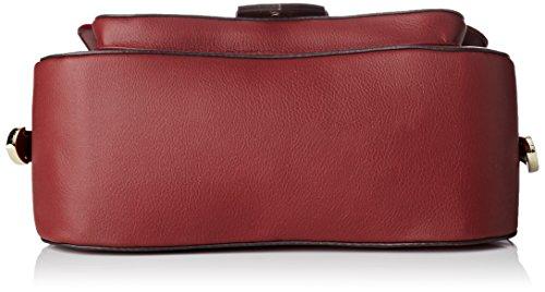 Guess Hwsisvp7390, Borsa a Mano Donna, 10 x 20 x 24.5 cm (W x H x L) Rosso (Bordeaux)