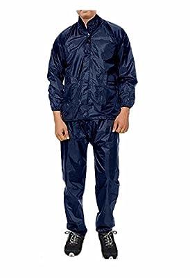 Krystle Women's Luxury Rain Suit (Navy Blue)