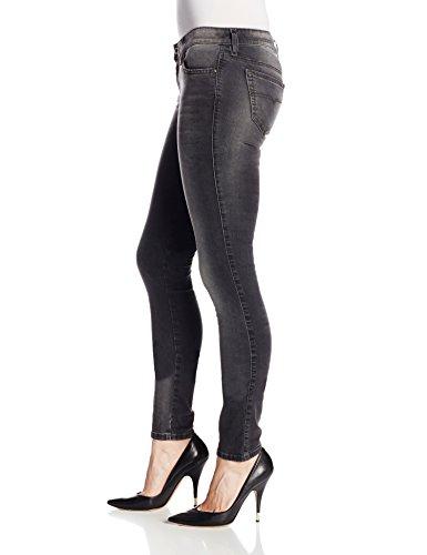 Diesel Damen Jeans Skinny Skinny Jeans Wash I_IT1138, Farbe: Dunkelgrau Dunkelgrau