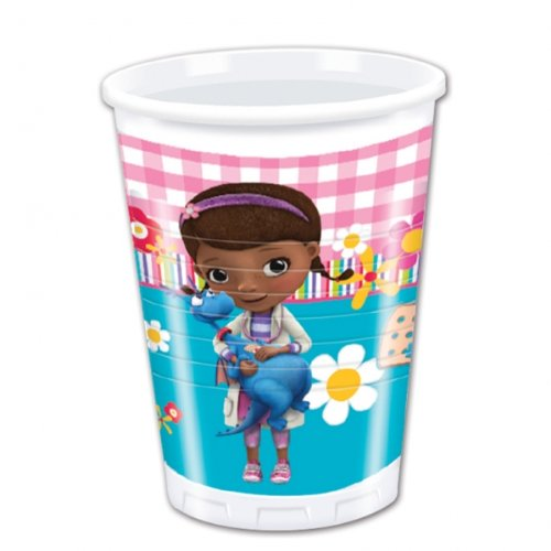 (Doc McStuffins Party-Doc McStuffins Party-Becher, 8 Stück)