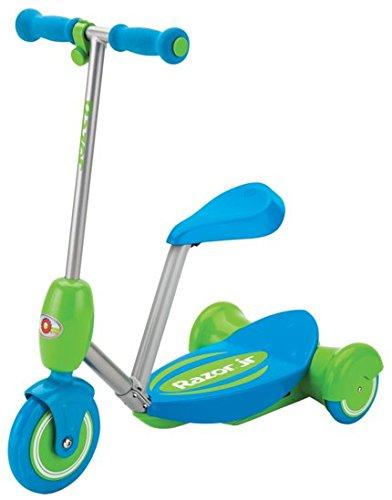 Razor Lil\' E Seated Escúter eléctrico, Niños, Azul, One Size