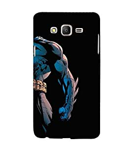FUSON Night Superhero 3D Hard Polycarbonate Designer Back Case Cover for Samsung Galaxy On7 Pro :: Samsung Galaxy On 7 Pro (2015)