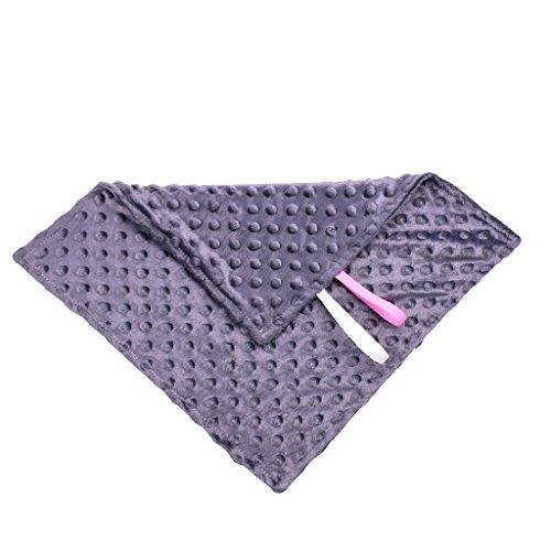 Minky Baby Blanket Dot Doux Couverture Douillette Mini Play Cloth, Les Sucettes Empêchent Les Couvertures De Coton Doux Au Toucher Chaud, 35 * 35Cm, 6 Sortes Disponibles,E