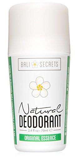 Bali Secrets Natürliches Deodorant – Bio & Vegan – Für Frauen & Männer – Frische für den ganzen Tag – Starker, verlässlicher Schutz – 75ml [Original Essence]