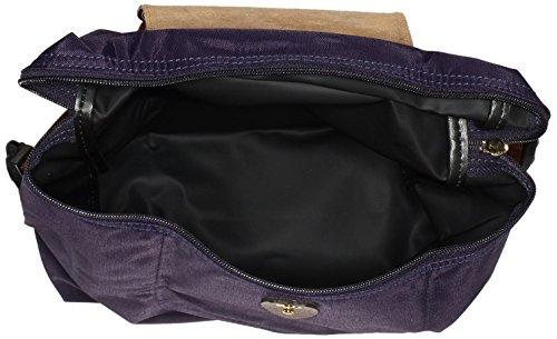 Longchamp - Le Pliage Backpack, Zaino Donna Violett (Myrtille)