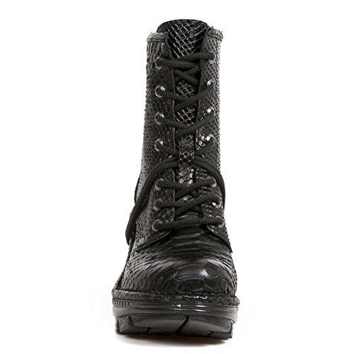 New Rock M Neotr008 S35, Boots femme BLACK, BLACK
