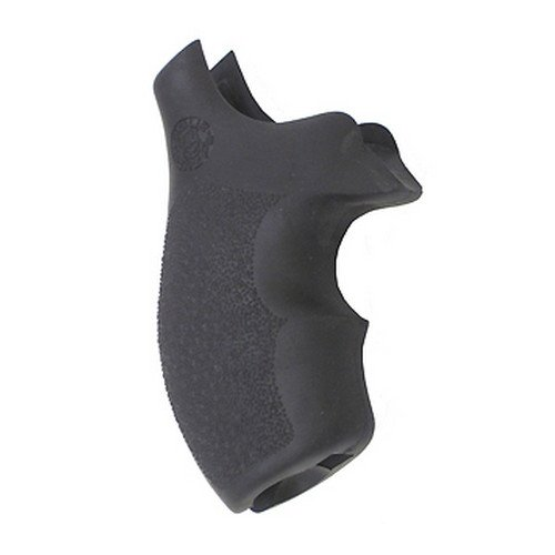 Hogue Rubber Grip S&W J Frame Round Butt Rubber Bantam Style Grip by Hogue