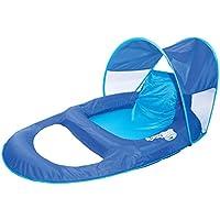 Nuovo SwimWays poltrona reclinabile piscina galleggiante a molla negozio w/cappottina parasole | 13022