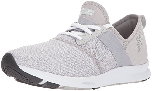 New Balance Damen Wxnrgv1 Hallenschuhe, Grau (Light Grey), 37.5 EU