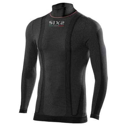 SIX2 Lupetto ml Thermo Black Carbon-M Unisex Adulto