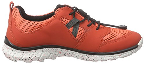 Ecco BIOM TRAIL Unisex Baby Lauflernschuhe Sneakers Rot (CORALBLUSH/CORALBLUSH-BLACK 59457)