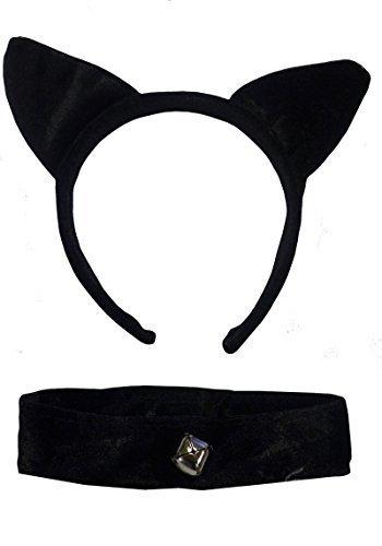 (Cat's Ears) Orejas Diadema Gato De Halloween De La Tarde Disfrazado