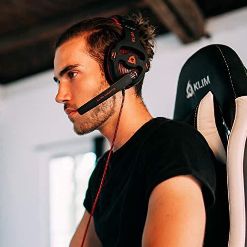 KLIM Mantis - Micro Gaming Headset - USB 7.1 - Hohe Qualität - Für PC PS4 Gaming