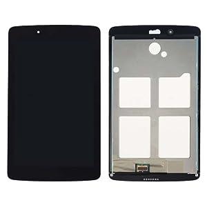 LG G Pad 7.0/V400Ersatzdisplay Komplettset (Glas + Touchscreen + LCD) schwarz