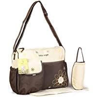 Nappy bag diaper bag colour beige brown changing bag baby care bag travel 2 pieces choice of colours preiswert