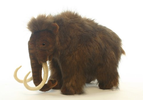 Plush Soft Toy Mammoth by Hansa. 40cm. 4659